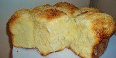 Joana Pães: Pão doce sabor milho com cobertura de coco