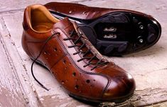 Dromarti Classic Sportivo Leather Cycling Shoes