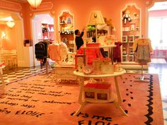The Eloise shop at the Plaza Hotel...super cute!