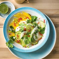 Rettich-Salat mit Mango