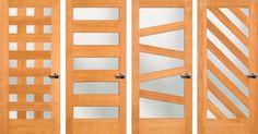 9 mid-century modern exterior door styles from Simpson Doors - Retro Renovation