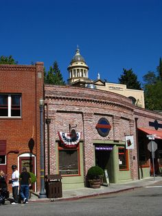 Auburn, California, founded in 1849 during Gold Rush