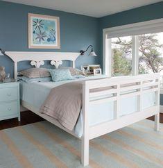 Great bedroom paint scheme Seaside Cottages Scatter the Coast of Kennebunk, Maine | HomeDSGN