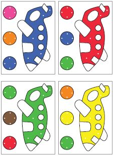 color clip cards download for preschool and kindergarten