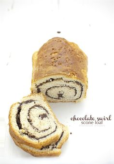 chocOlate swirl scone loaf