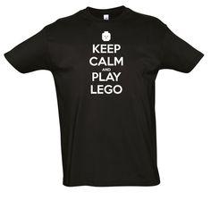 T-Shirt  Keep Calm Play Lego Men Kids Ladies by PlusNeatDesigns on Etsy https://www.etsy.com/listing/187268077/t-shirt-keep-calm-play-lego-men-kids