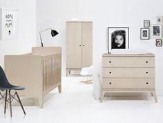 Muebles en madera natural de estilo nórdico