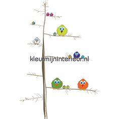 Tweety birds 414043 | Little Ones Noordwand | kleurmijninterieur.nl