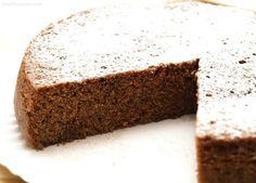 Bizcocho de chocolate, al microondas - MisThermorecetas.com