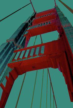 Golden Gate bridge California, photo by Ron cantrell - fineartamerica.co...