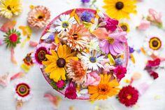 Vegan Flower Power Cake