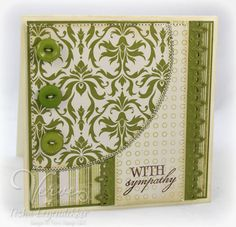 stamped handmade card