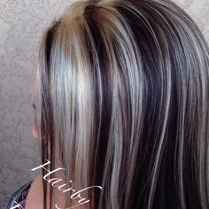 WEBSTA @ hairbytamano - #haircuts #chunkyhighlights #haircuts #highlights #hairbytamano #colton #cali #redlands #sanbernardino
