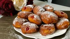 Pączki serowe w 5 minut! - Blog z apetytem Pretzel Bites, Baked Potato, Potatoes, Blog, Bread, Baking, Ethnic Recipes, Desserts, Cakes