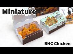미니어쳐 BHC 뿌링클 치킨 만들기 - Miniature chicken - YouTube