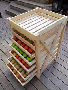 awesome food storage rack
