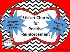 Promote and reward good attendance, behavior, homework habits, etc. with these sticker charts.  There are 50 themes with 2 charts of each theme.  Just copy, add a name, and let the sticker collection begin!  Motivation to do all the right things!  Examples of themes:  elephant, horse, school, bee, apples, pirates, circus, fishing, butterflies, super heroes, robots, soccer, and more!
