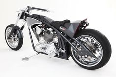 Orange County Choppers - Cadillac bike.