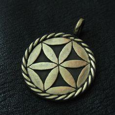 Bronze Svarga pendant from The Sunken City by DaWanda.com