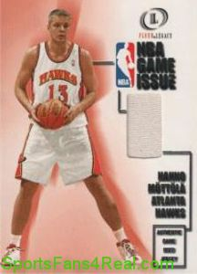 2000-01 Fleer Legacy Game Issue Hanno Mottola Jersey Card #GI28 card