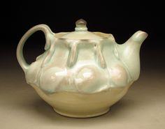 Brenda Christine Lichman - Wichita, KS Celadon Teapot 5x6.5x6