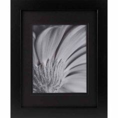 11 inch x 14 inch Black Gallery with Black Mat to 8 inch x 10 inch