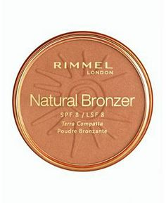Rimmel Natural Bronzer - had a hard time finding this in SA recently (don't know why?) but this is the bronzer that I've been using since 2008. Need asap again.