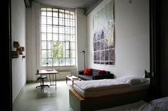 Appartement / Zimmer #2 - Blick von oben, Vorderraum Meisterzimmer.de, Leipzig
