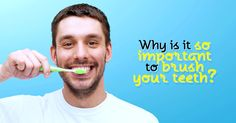 Daily brushing and cleaning between your teeth is important because it removes plaque. If the plaque isn't removed, it continues to build up, feeding on the bits of food left behind and causing tooth decay and gum disease. Dentist In, Sleep Apnea, Dental Implants, Brushing, Decay, Tooth, How To Remove, Cleaning, Home Cleaning