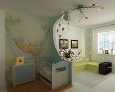 22 Baby Room Designs and Beautiful Nursery Decorating Ideas- build a separator in a square/rectangular room- so easy! and gives you a sitting room! Baby Bedroom, Nursery Room, Nursery Decor, Baby Rooms, Kids Rooms, Room Baby, Child's Room, Girl Room, Nursery Ideas