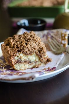 This cinnamon coffee cake recipe is moist, buttery, and full of cinnamon flavor. This is the best recipe for cinnamon crumb cake out there!