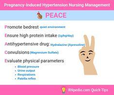 Pregnancy- Induced H Pregnancy- Induced Hypertension Nursing Management Newborn Nursing, Child Nursing, Ob Nursing, Nursing Notes, Maternity Nursing, Neonatal Nursing, Nursing School Scholarships, Nursing School Tips, Nursing Tips
