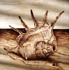 pyrography by Jean bouick: pyrography Wood Burning Stencils, Wood Burning Crafts, Wood Burning Patterns, Wood Burning Art, Wood Crafts, Pyrography Designs, Pyrography Patterns, Pyrography Ideas, Scratchboard Art