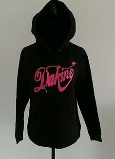 À vendre sur #vintedfrance ! http://www.vinted.fr/mode-femmes/sweats/55343738-sweat-noir-et-rose-dakine-tres-bon-etat