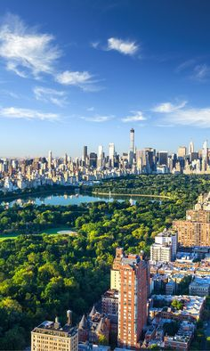 "City planners got this one right! The juxtaposition of a beautiful green park in the middle of booming skyscrapers cannot be beat. Central park is big enough that you really can ""escape the city"", even while being in the middle of it. Have you been to the 10 most iconic spots in NYC?"