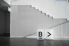 Interior signage by Stockholm Design Lab for Swedish University museum and contemporary arts centre Bildmuseet.