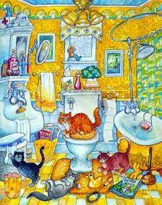 Mellow Yellow Mural - Bill Bell| Murals Your Way