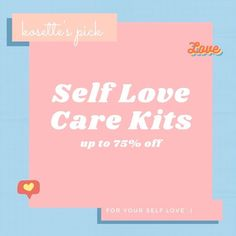 We know it's hard to keep up with self care during this quarantine 🥺 So we put together some self care kits for you 🌸✨ Not only your favorite products and brands but up to 75% off! 💯🗯 Check them out on kosettebeautymarket.com #kosette 🍒 Keep Up, Self Care, Kit, Check, Beauty, Products, Personal Care, Beauty Products