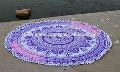 Top Diseñador Mandala Tapiz, hermoso Diseño Hippie Tapiz, Hecho A Mano indio Impreso Tapices De Pared