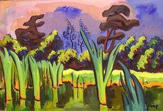 KARL SCHMIDT-ROTTLUFF  Seeufer (Shore, 1937)
