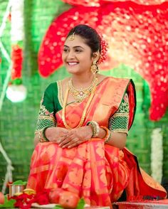 (63) Bhargavi Kunam - A bride need to wear two things to look...