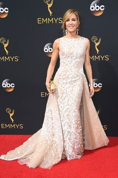Felicity Huffman in Tony Ward - Best Dressed at the 2016 Emmy Awards - Photos