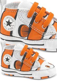 Fish converse!! - Evan would love Nemo Converse!