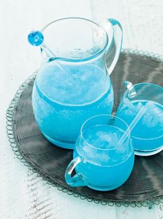 Blue Margarita Recipe (A litte blue Curacao margarita magic.)