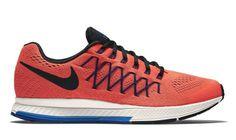 Nike Air Zoom Pegasus 32 Mens Running Shoes 10 Total Crimson Black 749340 800 #Nike #RunningCrossTraining