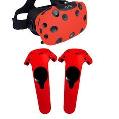 Silicone Cover Set for HTC Vive Headset - Games Accessories & Virtual Reality Virtual Reality Education, Augmented Virtual Reality, Virtual Reality Glasses, Vr Cover, Vr Helmet, Shell, Stereo Headphones, 3 D, Vr Headset