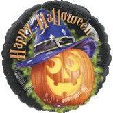 """18"""" Halloween Pumpkin with Hat"""