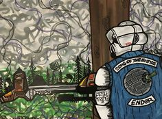 "For Sale: Sons Of The Empire  by Natty Ronsta | $300 | 48""w 36""h 