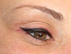 Thick latino permanent makeup eyeliner