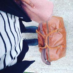 Mini weekend trip ready. #collectorofduffels #leggingsarecarrideessentials #phillyfortheweekend #scarfweather #bigscarfseason